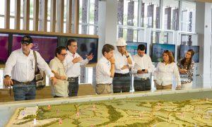 Luis Pérez, Gobernador de Antioquia visitó Serena Del Mar