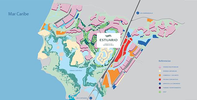 Mapa_Estuario_Serena_del_Mar_Cartagena
