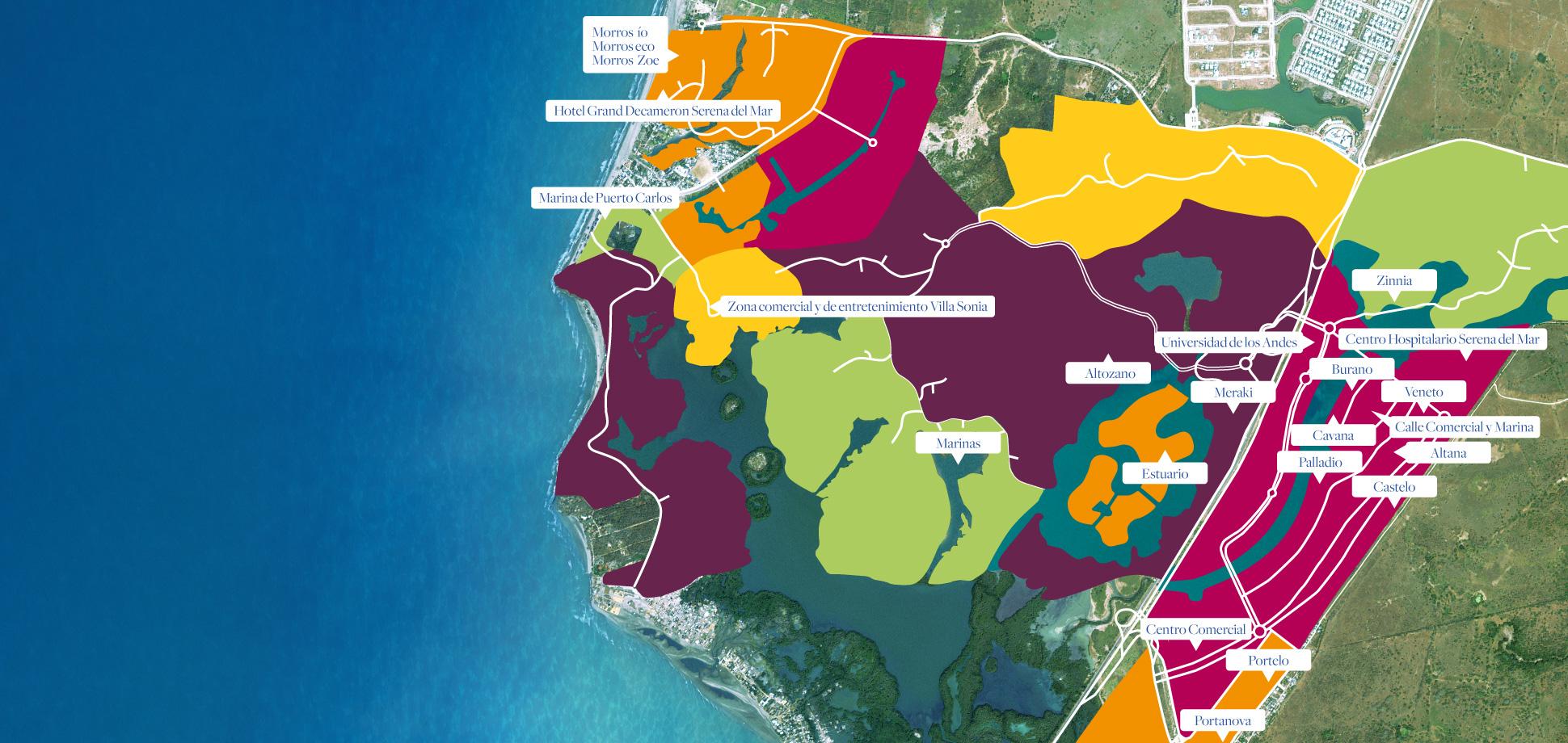 Mapa_Serena_del_Mar_Cartagena