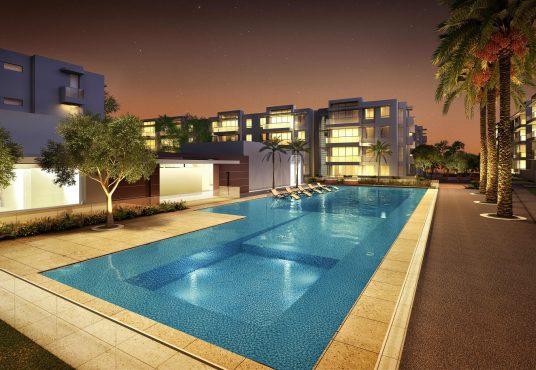 Proyecto de vivienda Serena del Mar Burano Piscina
