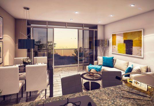 Portelo proyecto de vivienda Serena del Mar